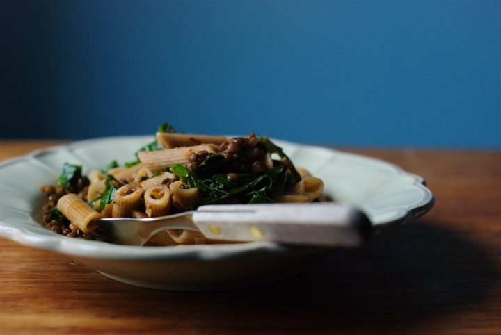 penne and lentils 02